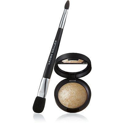 Laura GellerBaked Highlighter with Double-Ended Face & Eye Applicator