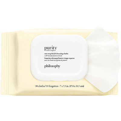 PhilosophyPurity Made Simple One-Step Facial Cleansing Cloths
