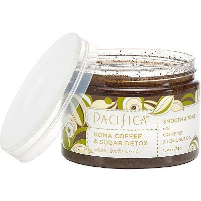 PacificaKona Coffee & Sugar Detox Whole Body Scrub
