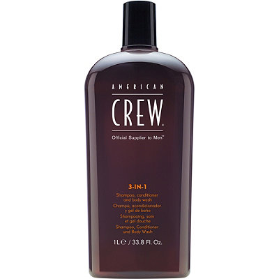 American Crew 3-In-1 Shampoo%2C Conditioner and Body Wash