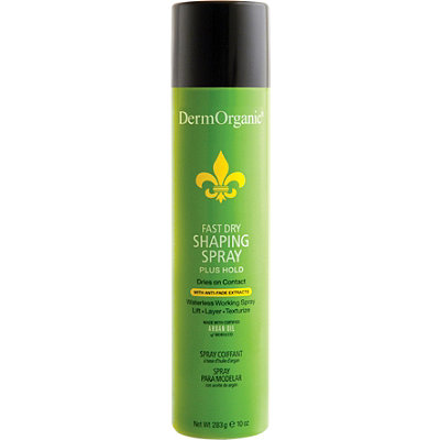 Dermorganic Fast Dry Shaping Spray Plus Hold