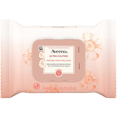 AveenoUltra-Calming Makeup Removing Wipes