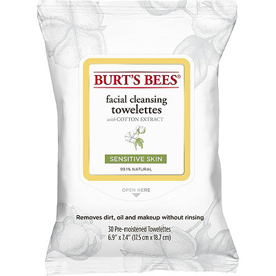 Burt's BeesSensitive Facial Cleansing Towelettes with Cotton Extract