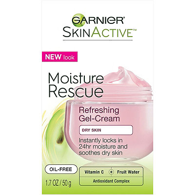 GarnierSkinActive Moisture Rescue Refreshing Gel-Cream For Dry Skin