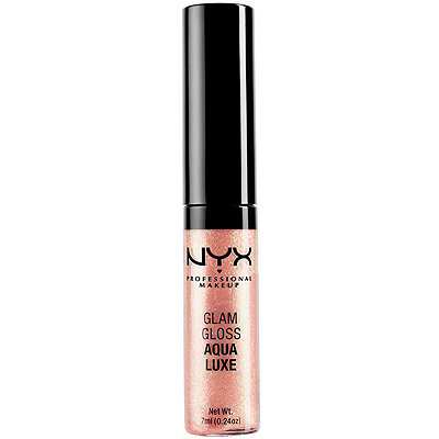 NYX Professional MakeupGlam Lip Gloss Aqua Luxe