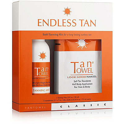 Tan Towel Endless Tan Classic Kit
