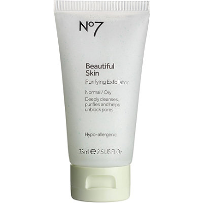 Boots No7 Beautiful Skin Purifying Exfoliator