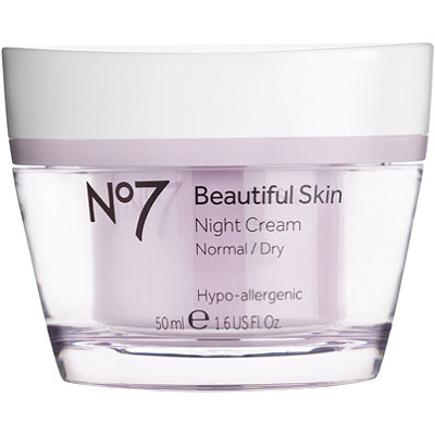 No7 Beautiful Skin Night Cream Normal%2FDry Skin