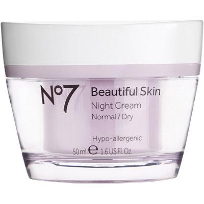 No7Beautiful Skin Night Cream Normal/Dry Skin