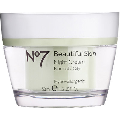 Boots No7 Beautiful Skin Night Cream Normal/Oily Skin