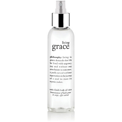 Philosophy Living Grace Satin Finish Body Oil Mist