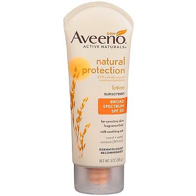 AveenoNatural Protection Lotion Sunscreen SPF 50