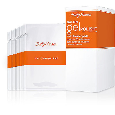 Sally Hansen Salon Gel Polish Nail Cleanser Pads 20 Ct