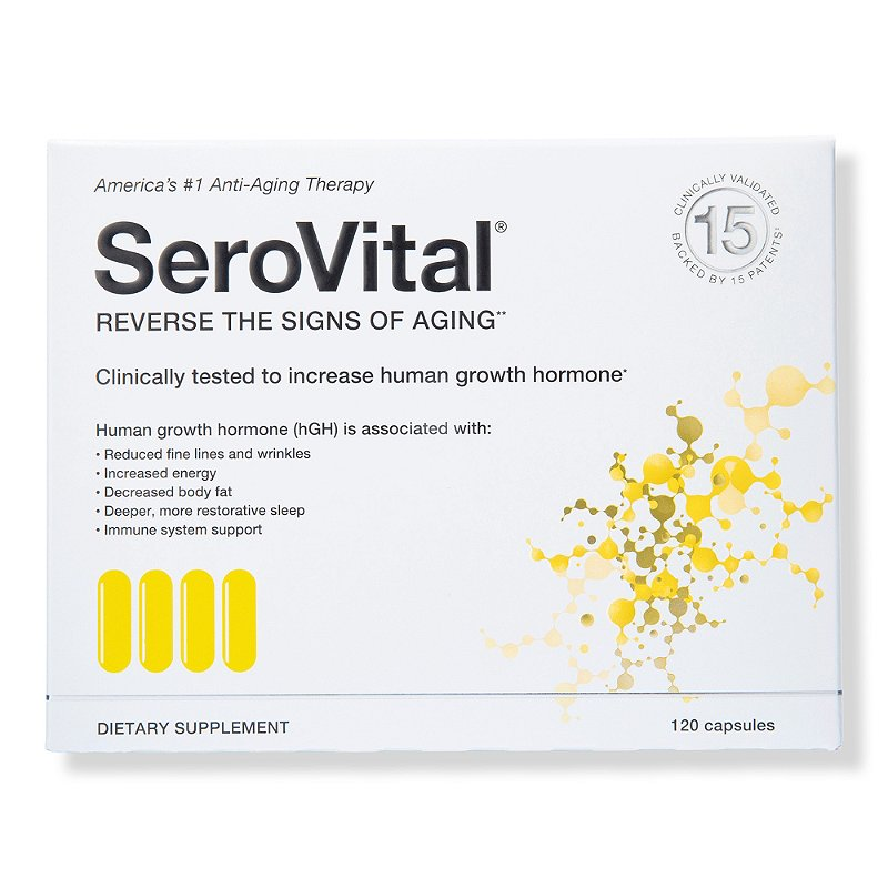 Serovital Hgh Dietary Supplement By San Medica