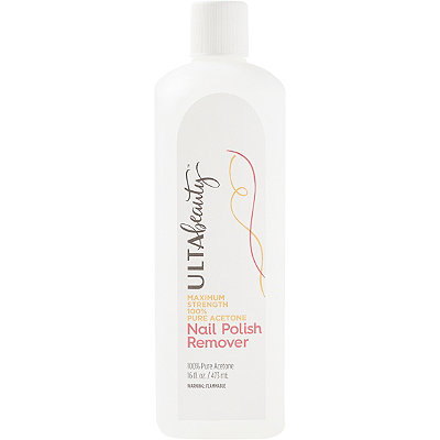 ULTA Maximum Strength 100% Pure Acetone Nail Polish Remover