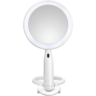 3X/1X Magnification Mirror with LED Lighting