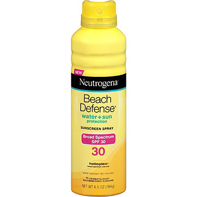 Beach Defense Sunscreen Spray SPF 30