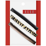 ElleAssorted Barrettes 3 Ct