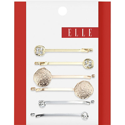 Elle Mixed Metal Bobby Pins