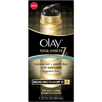 OlayTotal Effects Moisturizer + Serum Duo