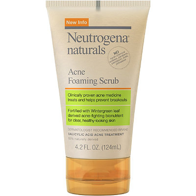 NeutrogenaNaturals Acne Foaming Scrub
