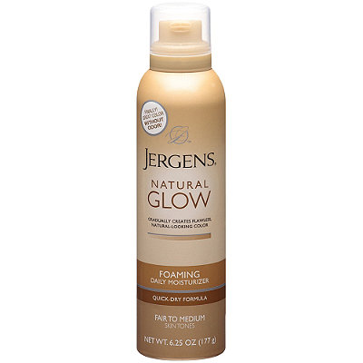 JergensNatural Glow Foaming Daily Moisturizer