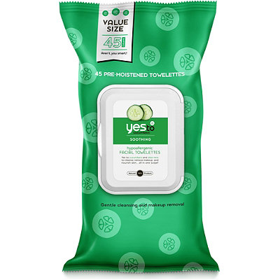 Yes to Cucumbers Towelettes