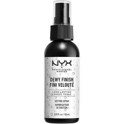Nyx Cosmetics Dewy Finish Makeup Setting Spray
