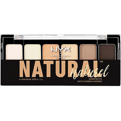 Nyx Cosmetics The Natural Eyeshadow Palette