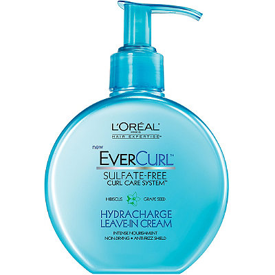 L'OréalEverCurl Hydracharge Leave-In Cream