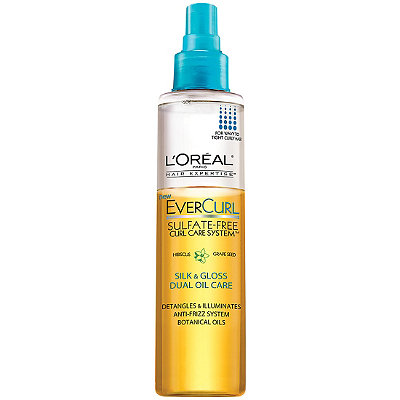 L'OréalEverCurl Silk & Gloss Dual Oil Care