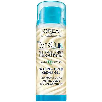 L'Oréal EverCurl Sculpt %26 Hold Cream-Gel