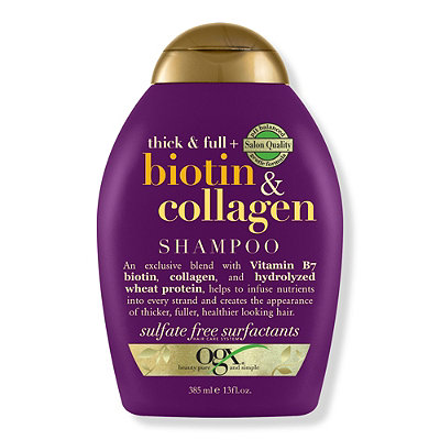 OGX Thick %26 Full Biotin %26 Collagen Shampoo