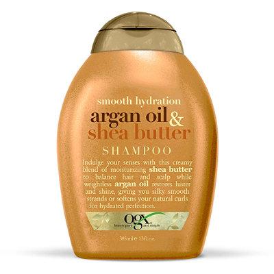 OGXSmooth Hydration Argan Oil & Shea Butter Shampoo