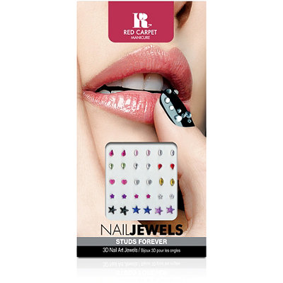 Red Carpet Manicure 3D Nail Jewels