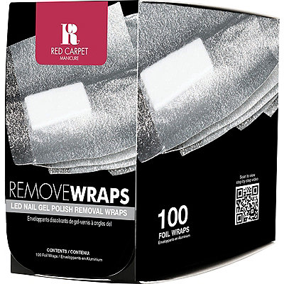 Red Carpet Manicure Foil Remover Wraps
