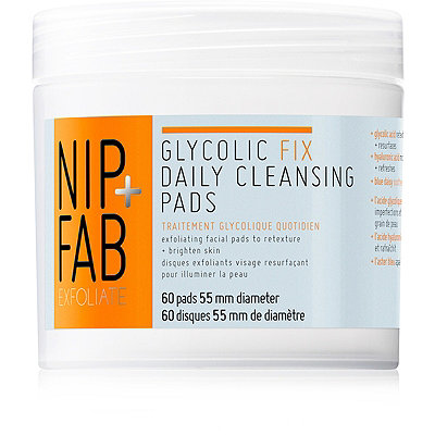 Nip + FabGlycolic Fix Exfoliating Facial Pads