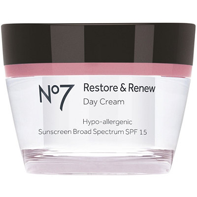 Boots No7 Restore & Renew Day Cream SPF 15