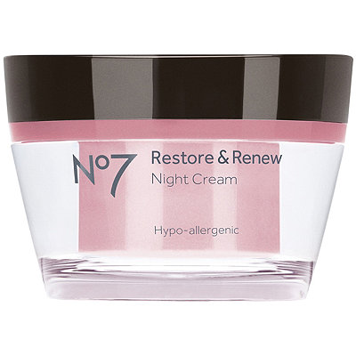 No7 Restore & Renew Night Cream