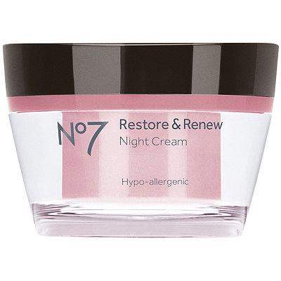 No7Restore & Renew Night Cream