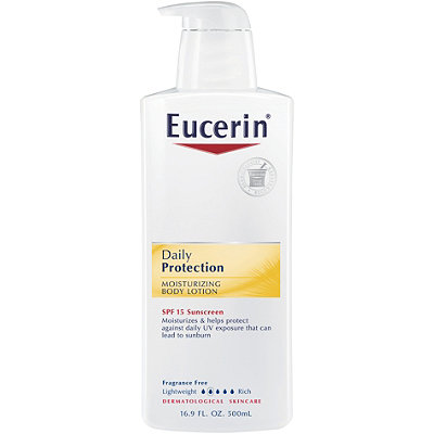 EucerinDaily Protection Moisturizing Body Lotion SPF 15