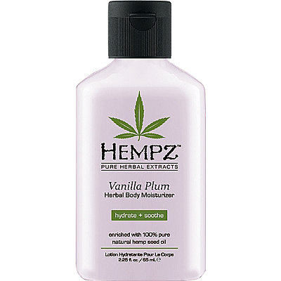 Travel Size Vanilla Plum Herbal Body Moisturizer