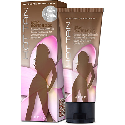 Hot Legs Hot Tan Instant Cosmetic Bronzer