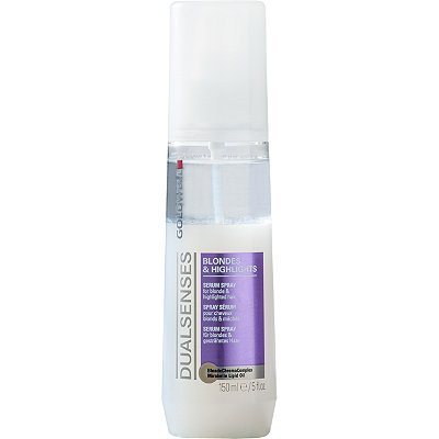 GoldwellDual Senses Blond & Highlights Anti-Brassiness Serum Spray