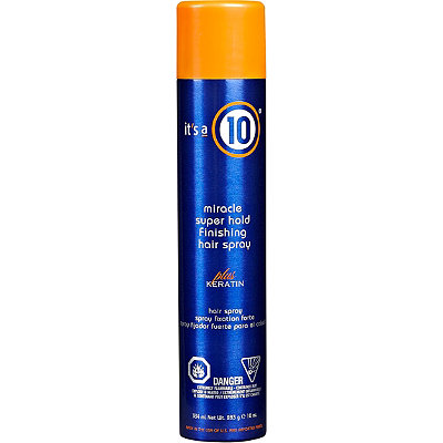 It's A 10Miracle Super Hold Finishing Spray Plus Keratin