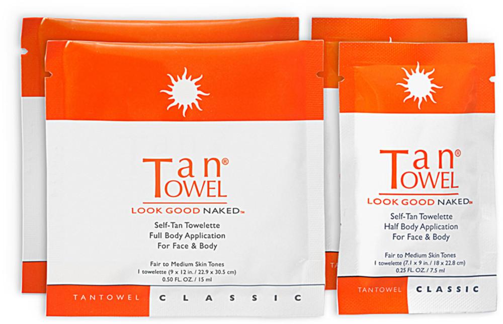 Tan Towel Tan Towel Face-Tan Anti-Aging Towelette, 15 ea Cellcosmet CellLift Serum 1.01 oz