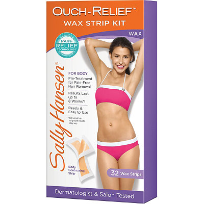 Sally HansenOuch-Relief Wax Strip Kit