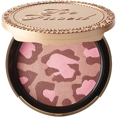 Too Faced Pink Leopard Blushing Bronzer