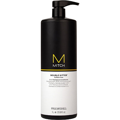 Paul Mitchell Mitch Double Hitter 2-In-1 Shampoo %26 Conditioner