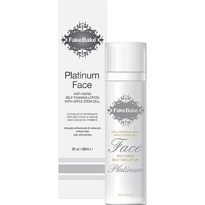 Fake BakePlatinum Face Tanner with Apple Stem Cell Anti-Aging